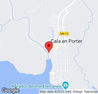 Map for Grupotel Mar de Menorca