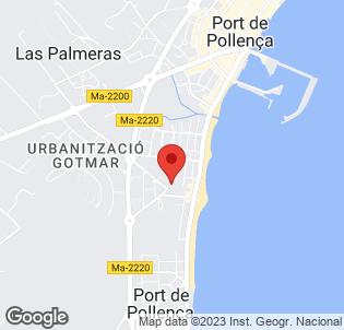 Map for Pollensa Park