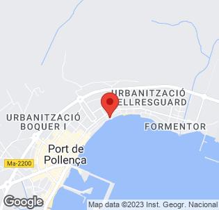 Map for Hostal Bahia