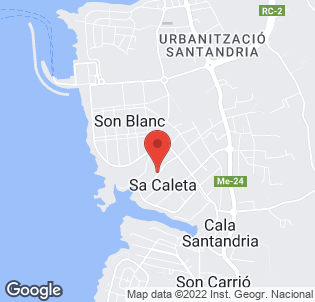 Map for Prinsotel La Caleta Hotel