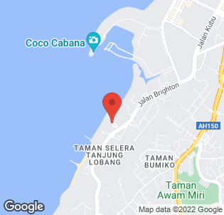 Map for Miri Marriott Resort & Spa