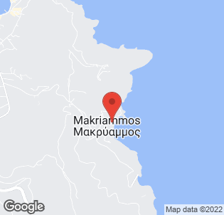 Map for Makryammos Bungalows