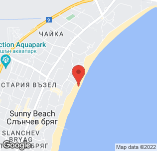 Map for Chaika Beach Hotel