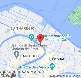 Map for Foscari Palace Hotel