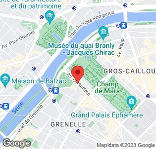 Map for Pullman Paris Tour Eiffel