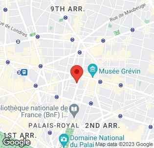 Map for Mercure Paris Cusset Opera Hotel
