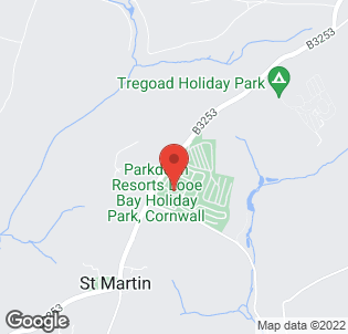 Map for Looe Bay Holiday Park