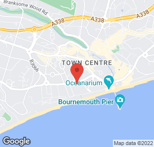 Map for Brooklands Hotel