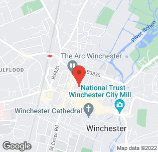 Map for The Winchester Royal Hotel