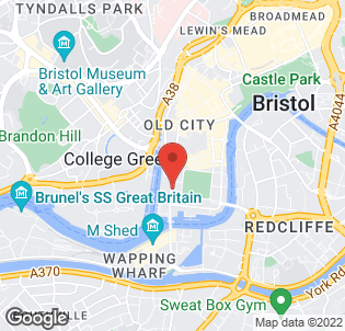 Map for The Bristol Hotel