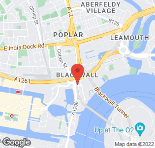 Map for Ibis London Docklands Hotel