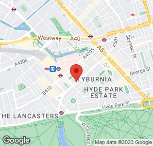 Map for Days Inn Hyde Park