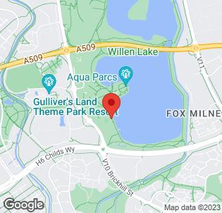 Map for Premier Inn Milton Keynes East (Willen Lake)