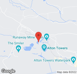 Map for Alton Towers Hotel