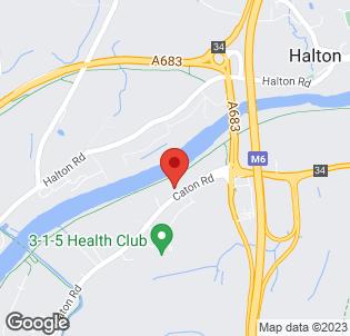 Map for Holiday Inn Lancaster