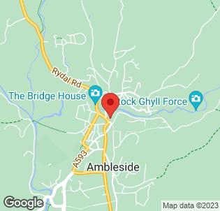 Map for Ambleside Salutation Hotel