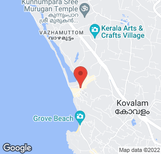 Map for Uday Samudra Beach Hotel