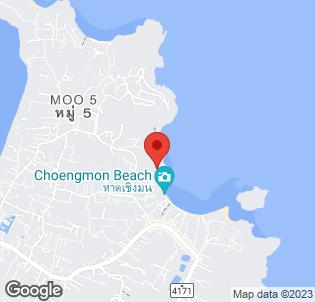 Map for Centara Grand Beach Resort Samui