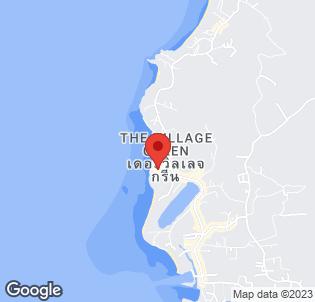 Map for Blue Ocean Garden Beach Resort