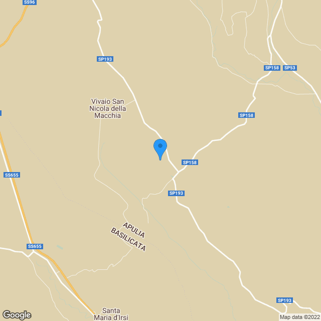 mappa Base Jupiter- Campo dei Missili- Ex base Nato, Comune di Gravina in Puglia
