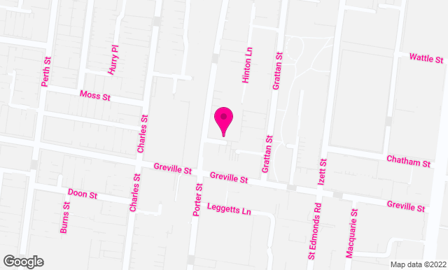 Google Map Chrometoaster's office, 40 Porter St Prahran, Melbourne VIC 3181 Australia.