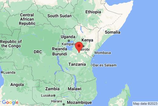 ンゴロンゴロ保全地域の場所