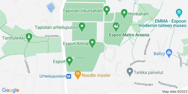 Klikkaa kartta aktiiviseksi