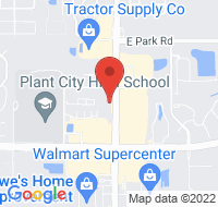 Plant City  google map