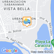 Mapa de Ubicaci�n Margarita International Resort