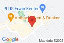 Het adres op een kaart getoond.