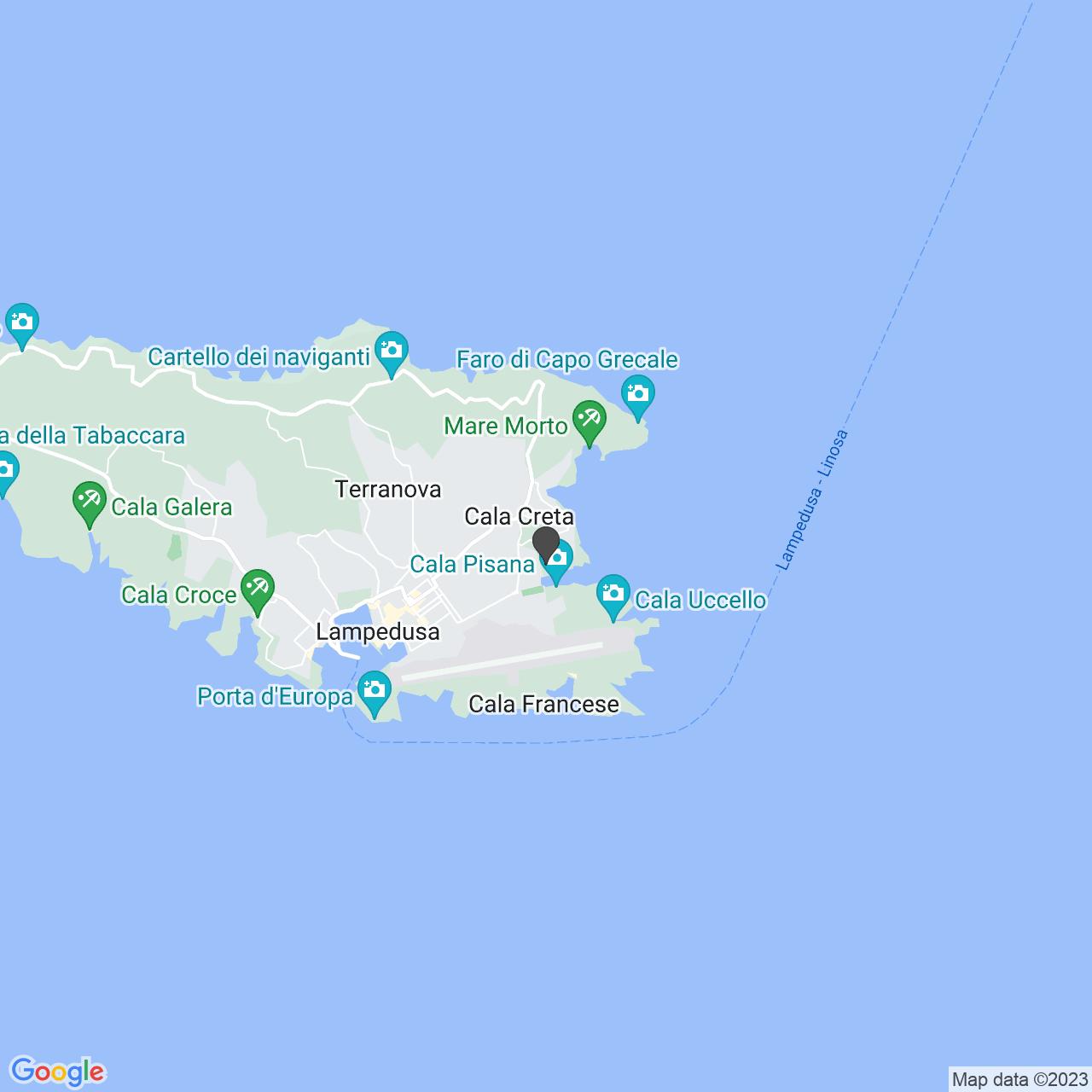 Contrada Cala Pisana  (AG)