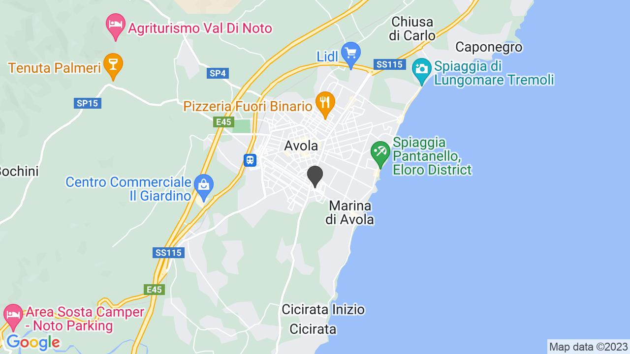 CROCE ROSSA ITALIANA COMITATO DI AVOLA ORGANIZZAZIONE DI VOLONTARIATO