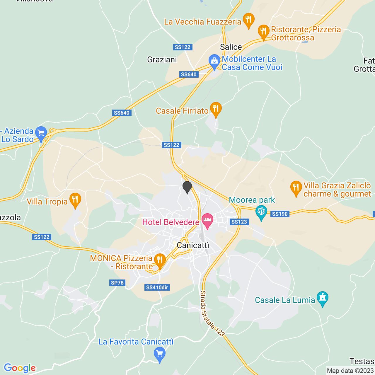 Via Nazionale CANICATTI' (AG)
