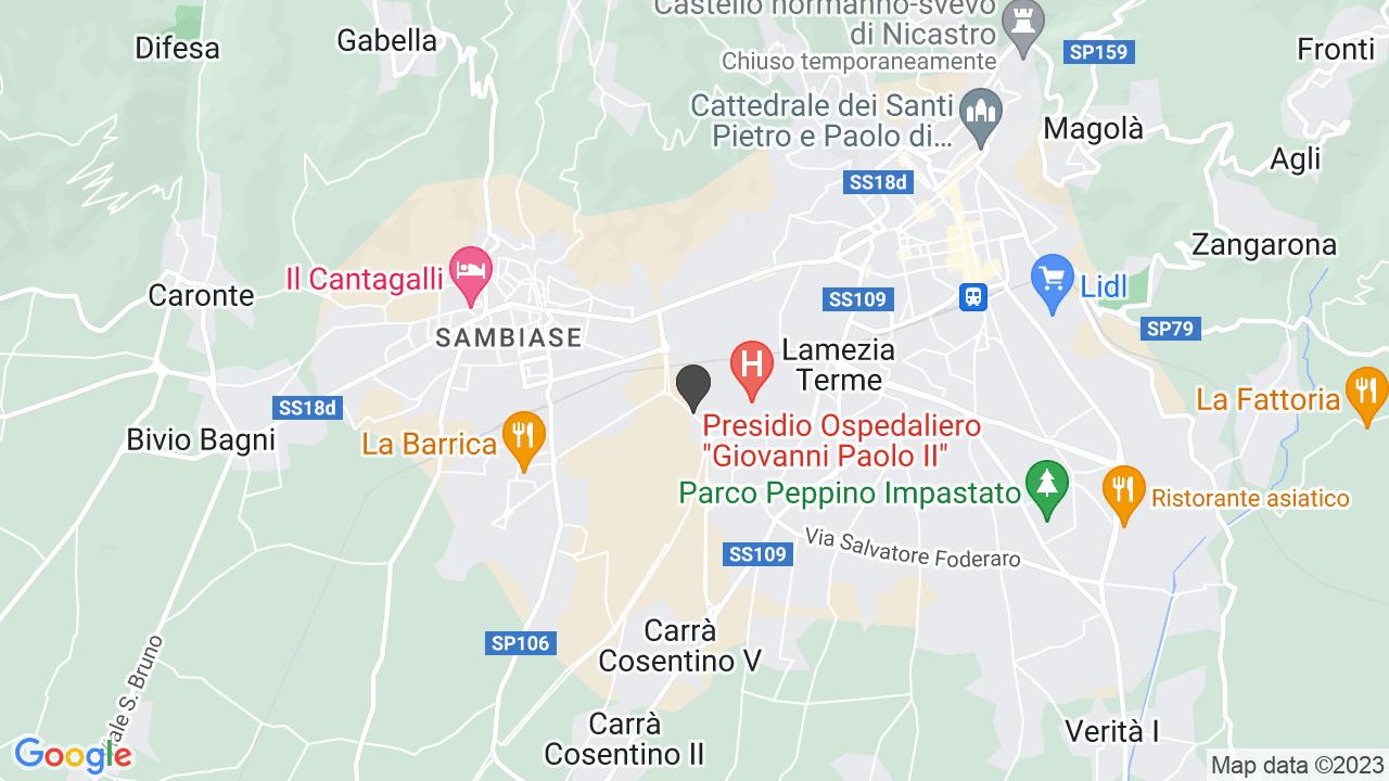Cappella dell'Ospedale Civile di Lamezia Terme