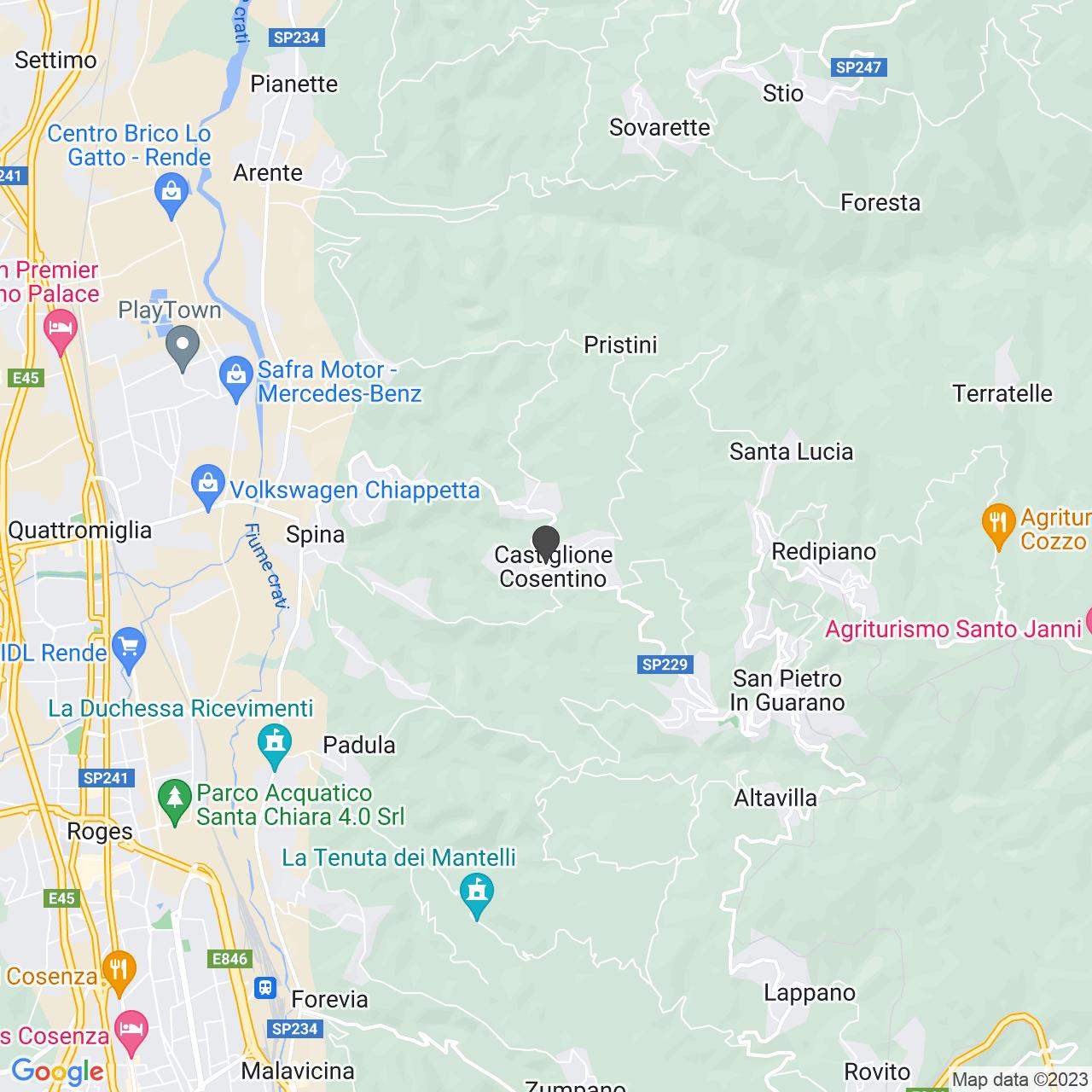 CIMITERO CASTIGLIONE COSENTINO
