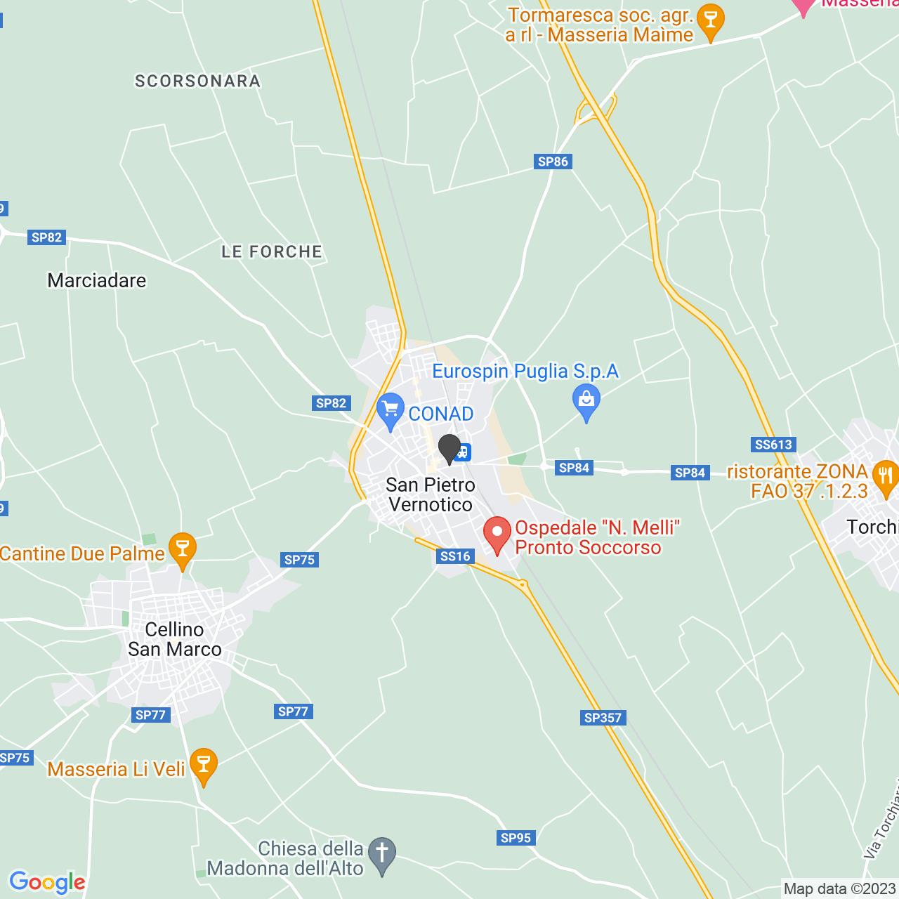 CIMITERO SAN PIETRO VERNOTICO