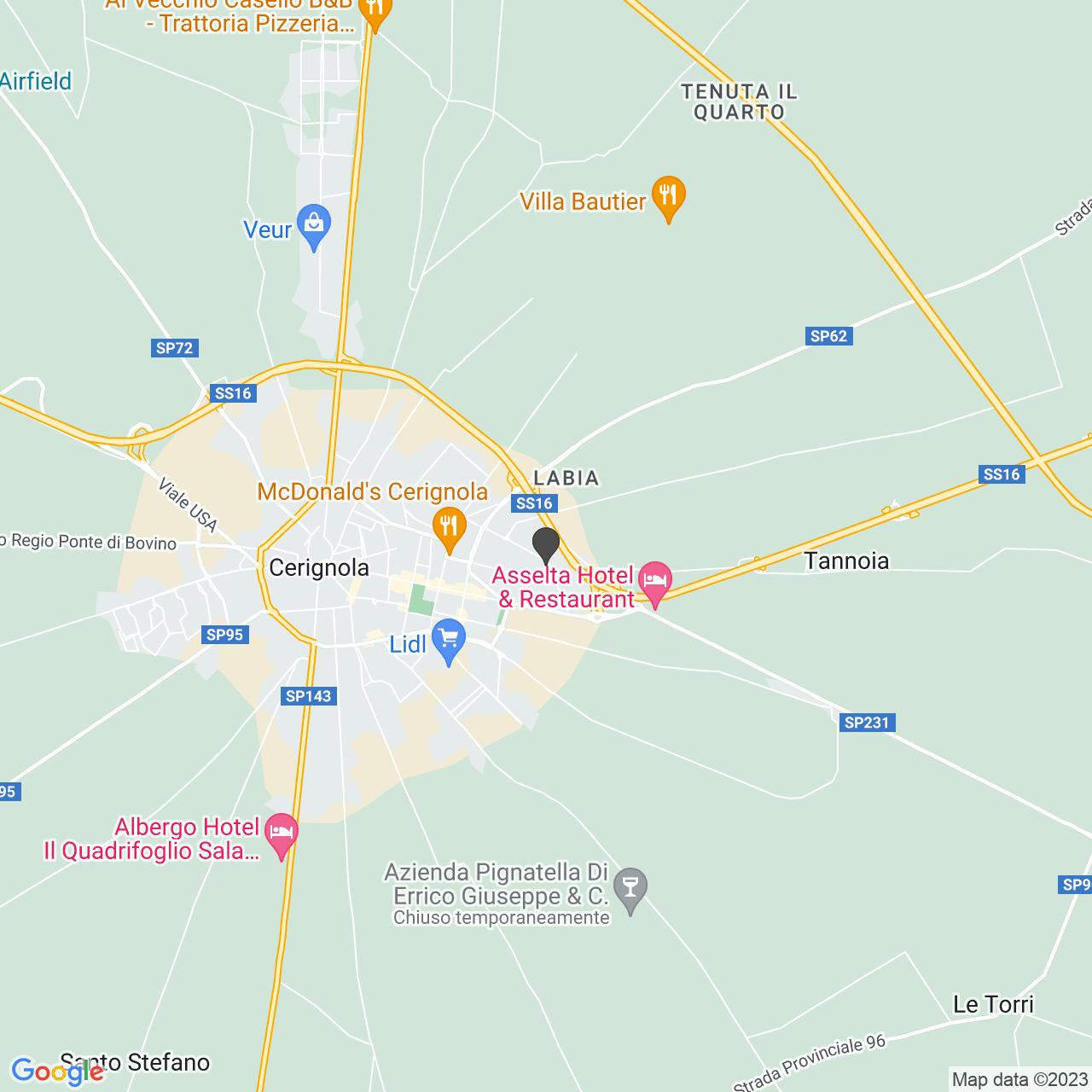 ASS. DIABETICI CERIGNOLA MARIA SS. DI RIPALTA - ONLUS