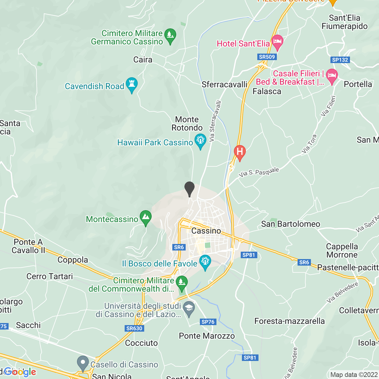 CIMITERO MILITARE TEDESCO CAIRA CASSINO