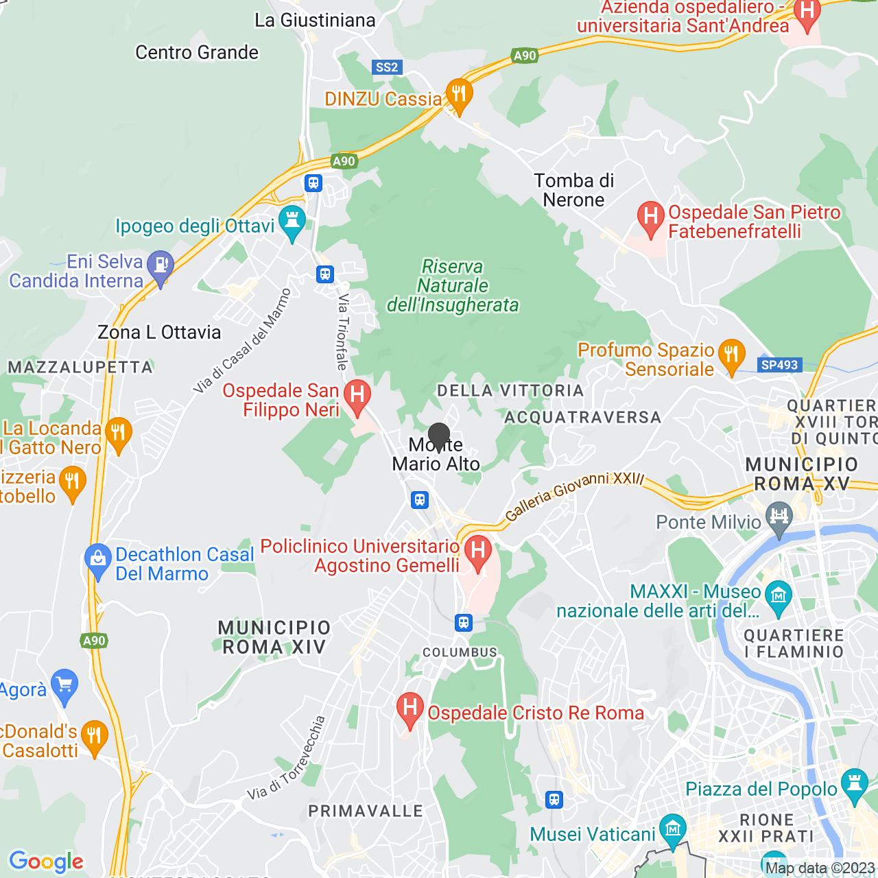 Chiesa di Nostra Signora di Guadalupe a Monte Mario