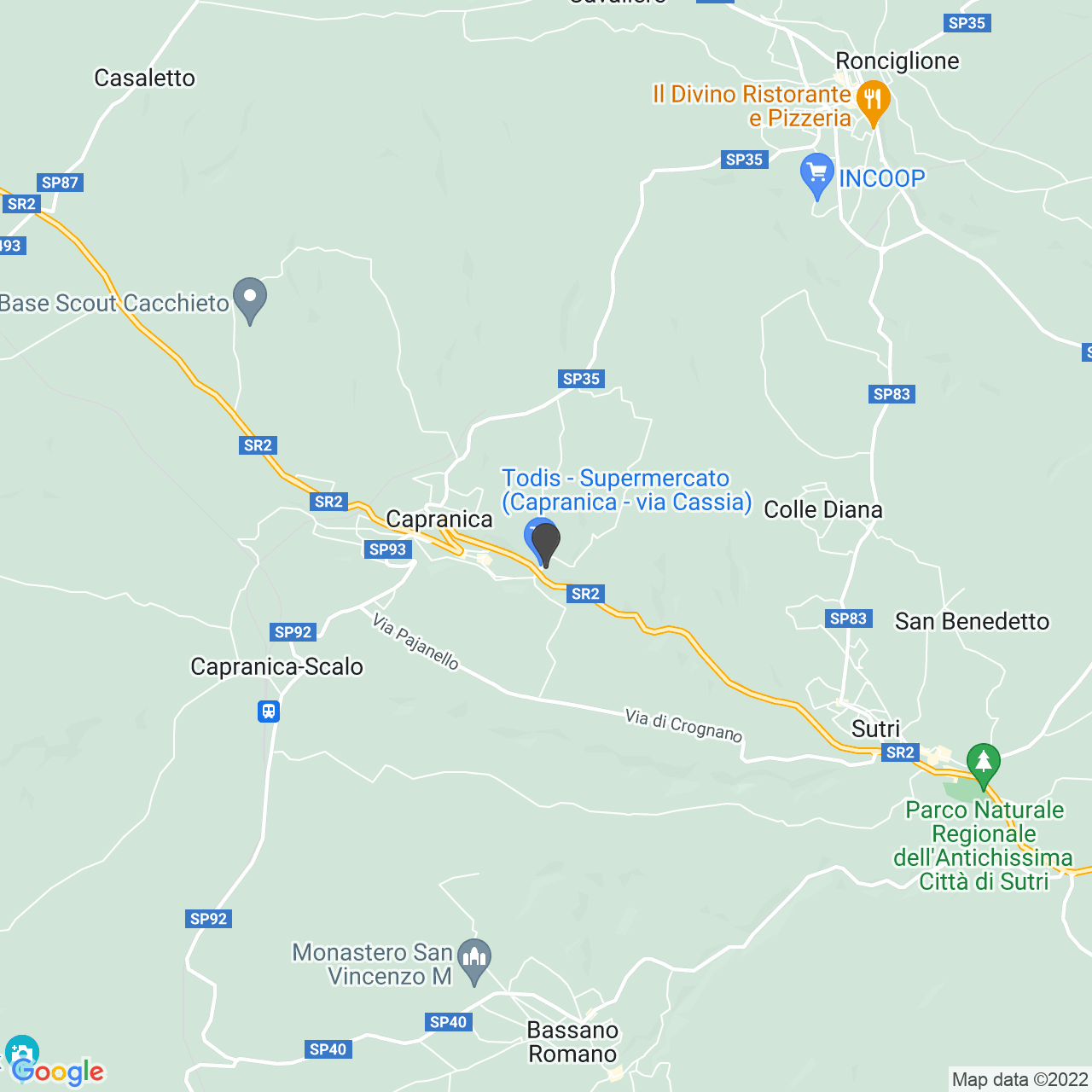 CROCE ROSSA ITALIANA COMITATO LOCALE DI CAPRANICA