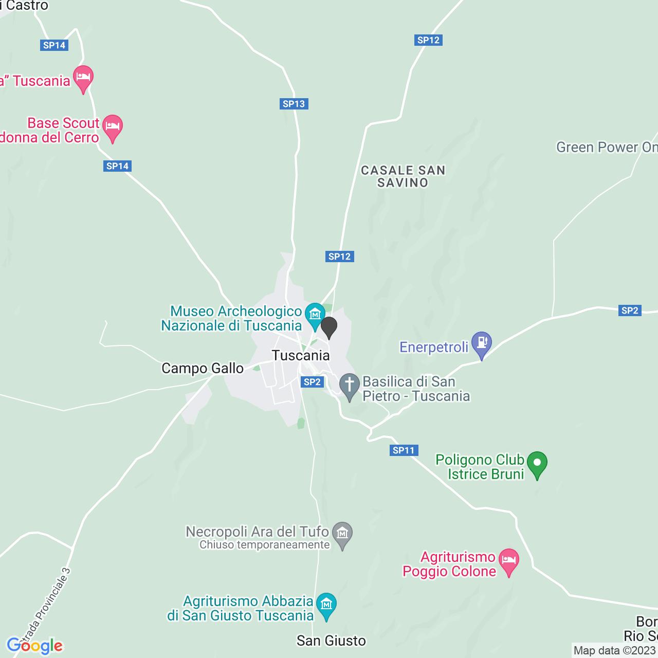 CIMITERO TUSCANIA