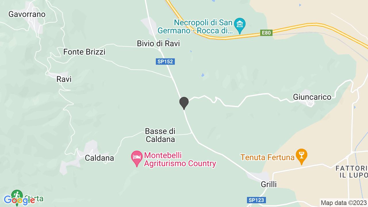 Cappella in località Nuovo Inguardio