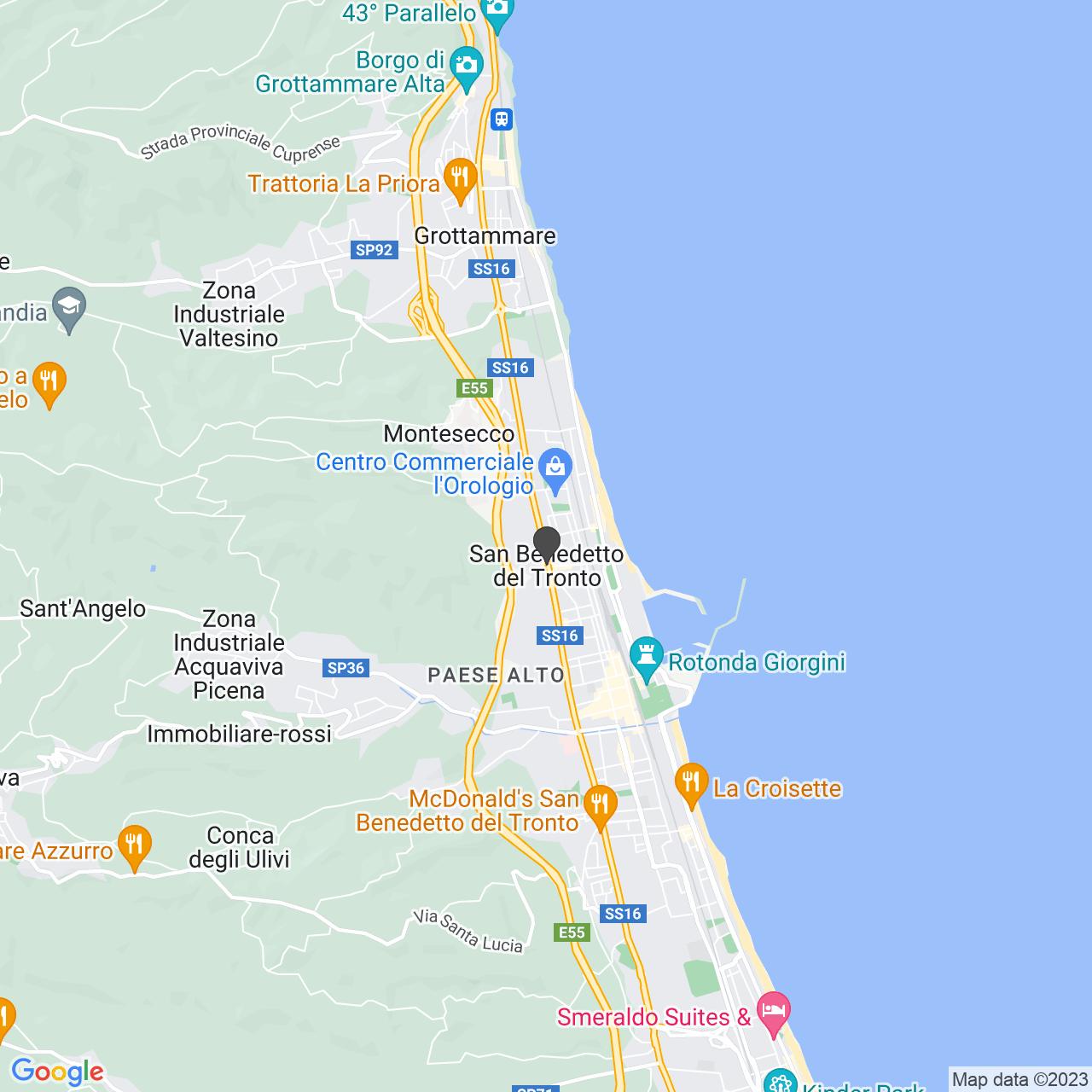CIMITERO SAN BENEDETTO DEL TRONTO