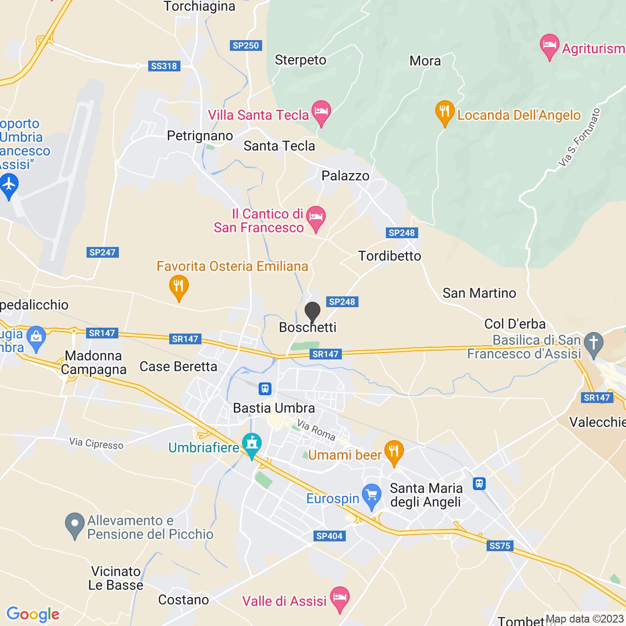Via Averardo Mantovani  (PG)