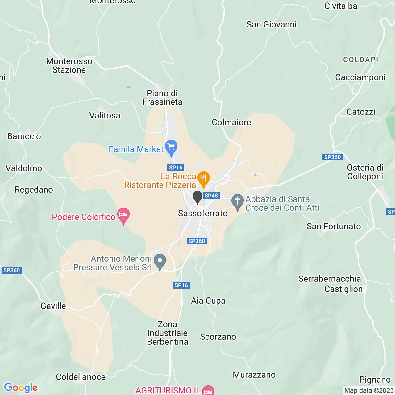 CROCE ROSSA ITALIANA - COMITATO DI SASSOFERRATO - ORGANIZZAZIONE DI VOLONTARIATO