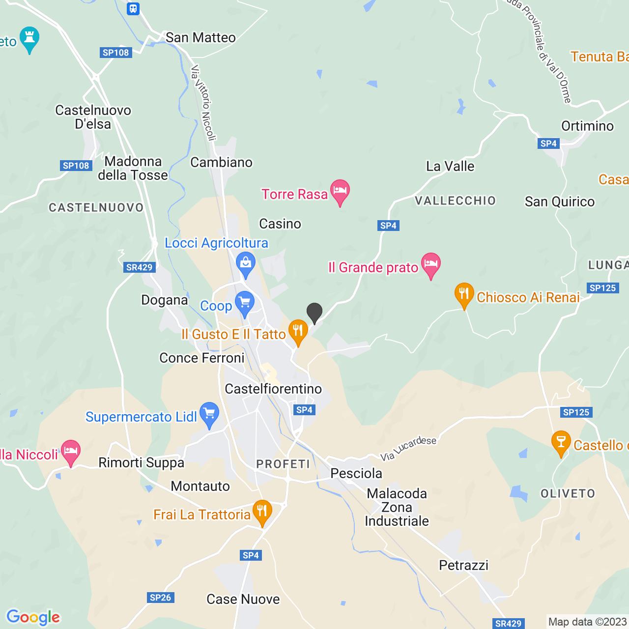 MISERICORDIA DI CASTELFIORENTINO CASTELFIORENTINO