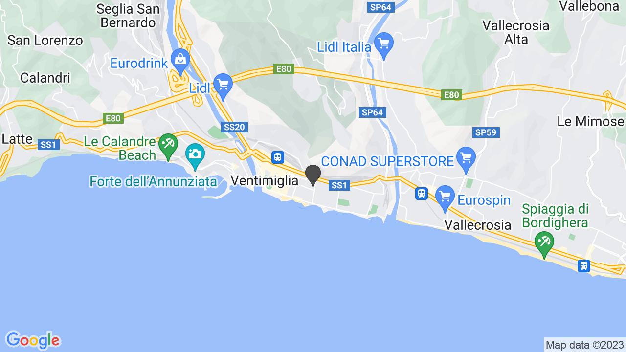 CROCE ROSSA ITALIANA-COMITATO DI VENTIMIGLIA-ORGANIZZAZIONE DI VOLONTARIATO -ODV-