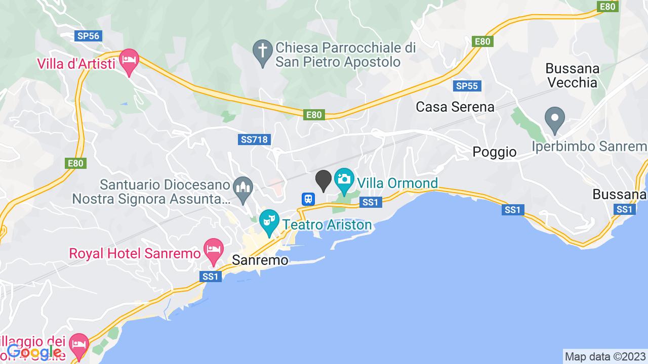 CROCE ROSSA ITALIANA COMITATO DI SANREMO ODV