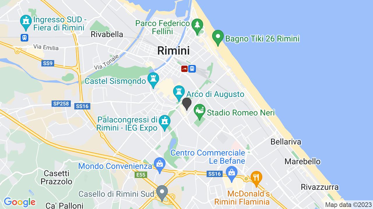 Via Giovanni XXIII 21  (RN)