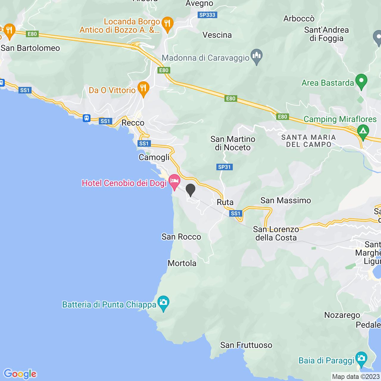 Santuario di Nostra Signora del Boschetto in Camogli